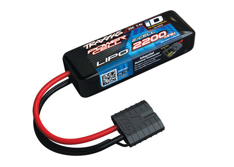 Traxxas Power Cell LiPo Battery 2200mAh 7.4V 25C 2S iD, 2820X