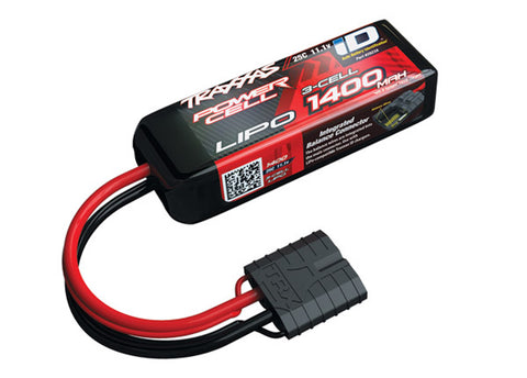 Traxxas Power Cell 3S LiPo Battery 25C 1400mAh, 2823X