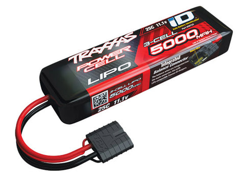 Traxxas Power Cell LiPo Battery 5000mAh 11.1V 25C 3S iD, 2872X