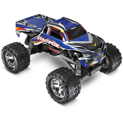 Traxxas Stampede XL-5 1/10 2WD Monster Truck RTR, Blue, 36054-1