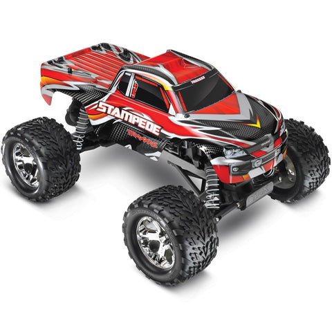 Traxxas 1/10 Stampede RTR w/XL-5 ESC, Red, 36054-1-RED