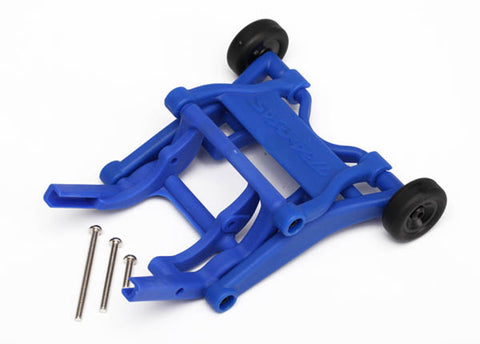 Traxxas Wheelie Bar, Assembled, Blue, 3678X