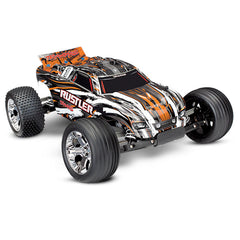TRA37054-1-ORNG 37054-1 Rustler XL-5 1/10 2WD ST, Battery, Orange