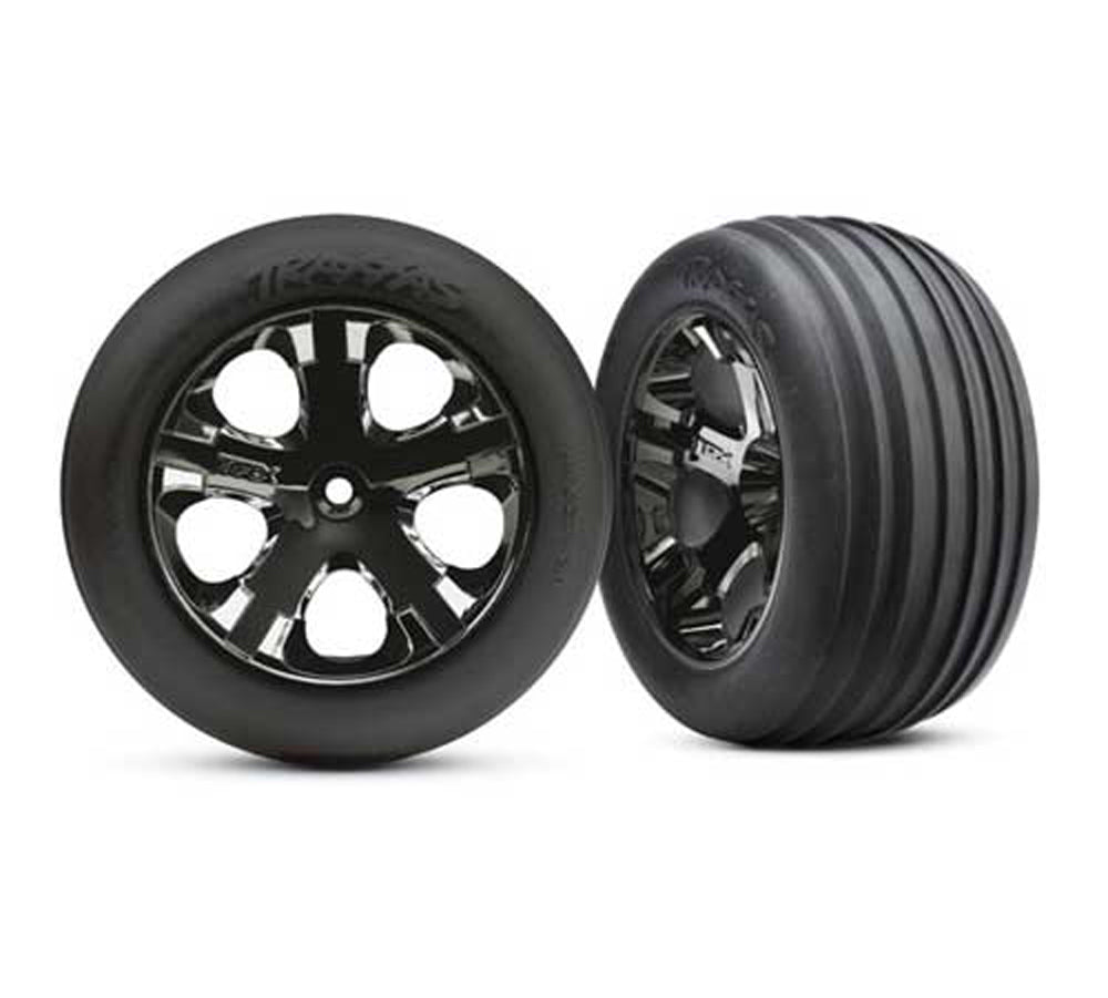 TRA3771A 3771A Alias Tires, All-Star Wheels, Blk Chrome, Front