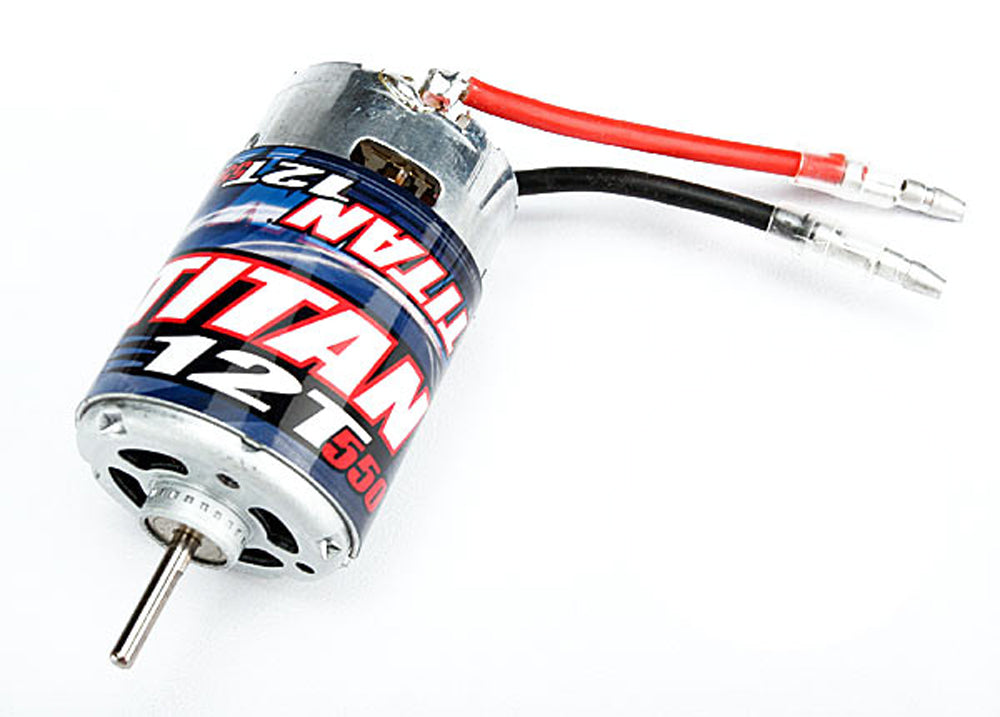 TRA3785 3785 Titan 12T Brushed 550 Motor