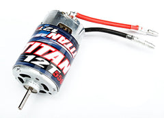 Traxxas 1/10 Stampede 2WD XL-5 XL-5 Low Profile Waterproof ESC & Titan 550 Motor