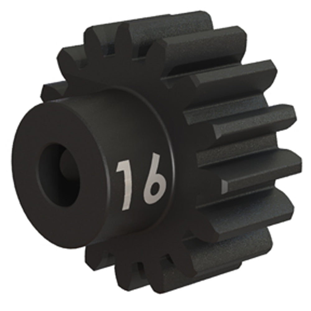 TRA3946X 3946X Heavy Duty Steel Pinion Gear, 32 Pitch, 16T