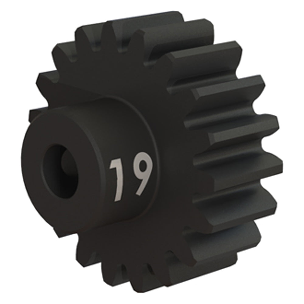 TRA3949X 3949X Steel Pinion Gear, Heavy Duty, 32P, 19T