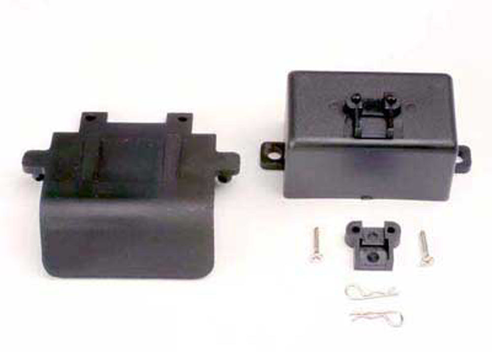 TRA4132 4132 Rear Bumper, Battery Box, Clips, EZ-Start Mount