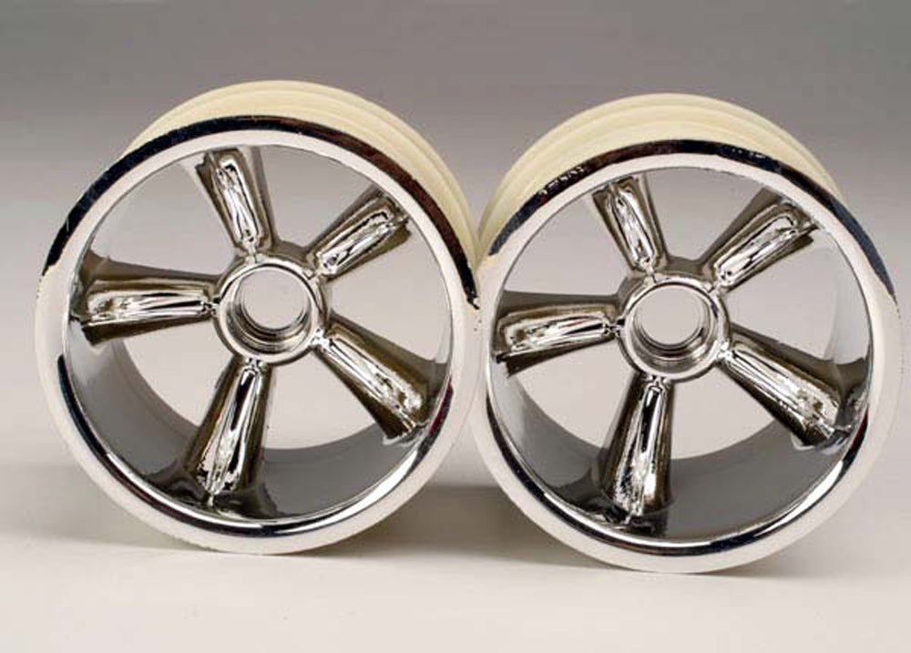 "TRA4174 4174 2 TRX Pro-Star Chrome 2.2"" Wheels - Front"