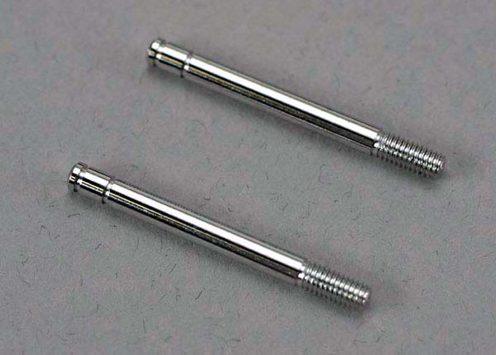 TRA4262 4262 Shock Shafts, Steel, 32mm, Chrome Finish