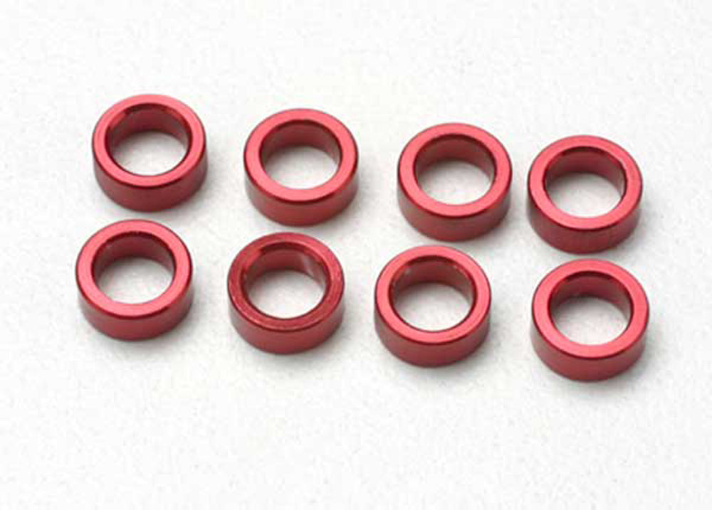 TRA5133 5133 Aluminum Pushrod Spacer, Red