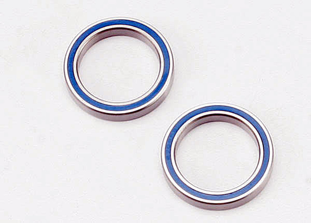 TRA5182 5182 Ball Bearings, Blue Rubber Sealed, 20x27x4mm