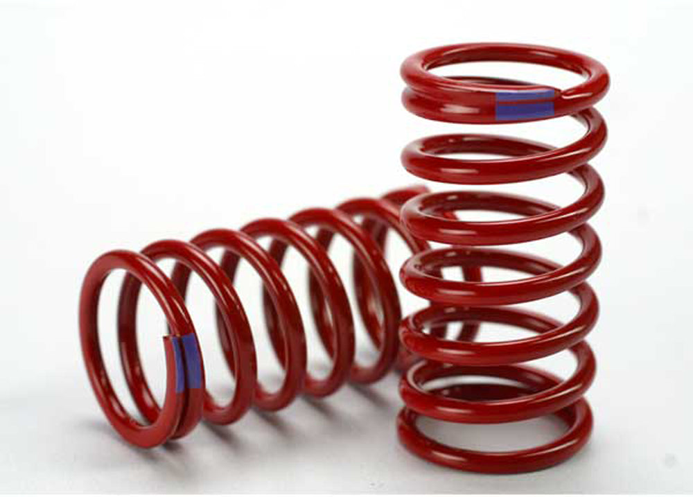 TRA5445 5445 2 GTR Shock Springs - Purple 6.4