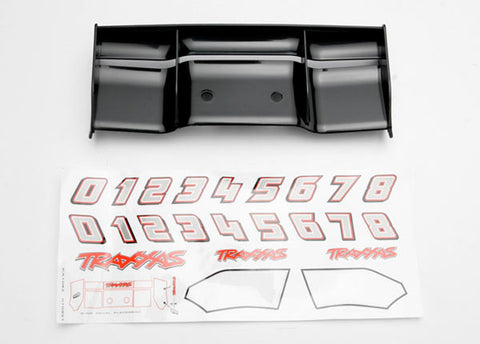 Traxxas Rear Wing, Black, 5446