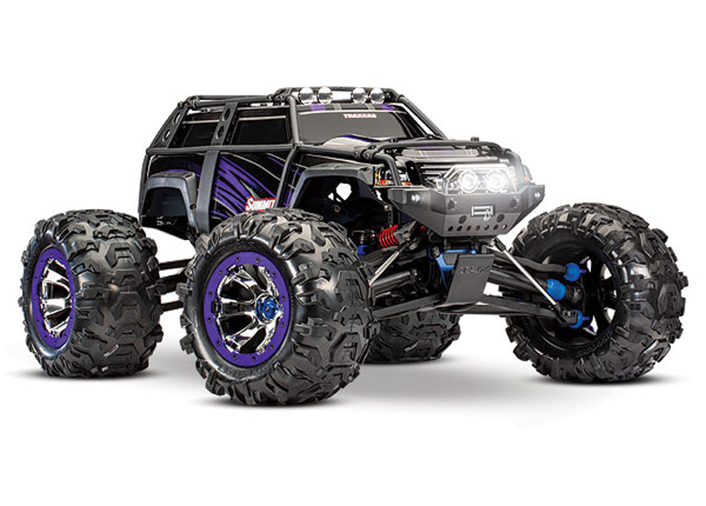 TRA56076-4-PRPL 56076-4 Summit 1/10 4WD Monster Truck, Purple