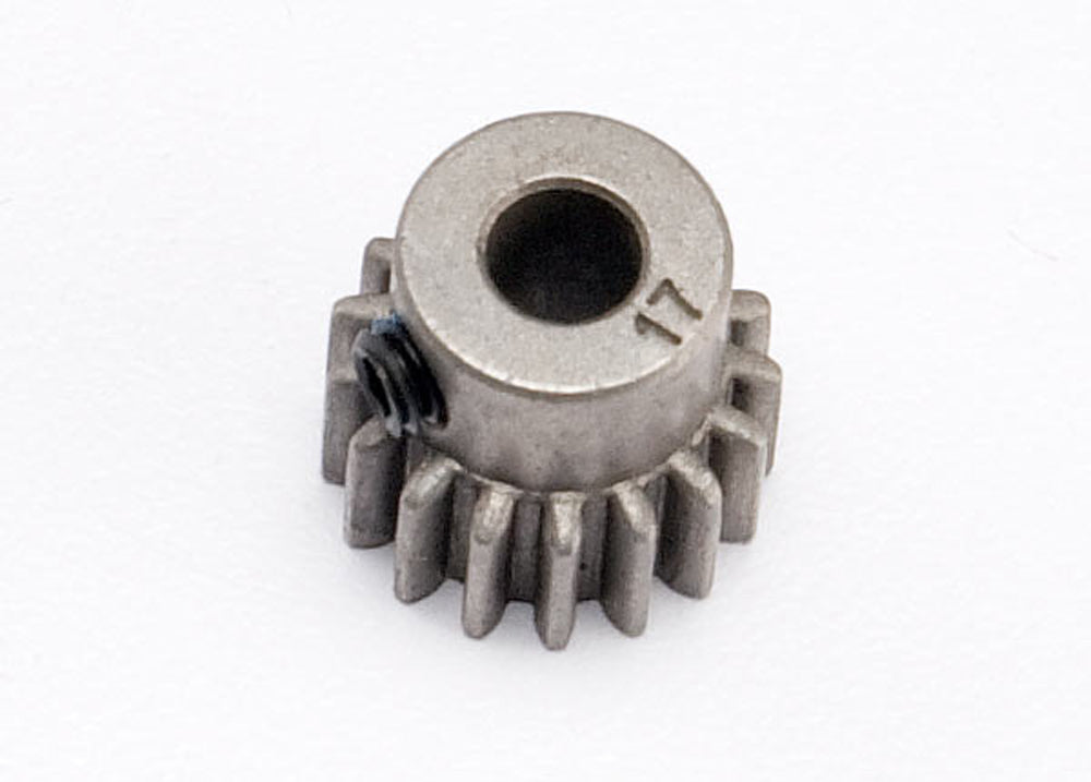 TRA5643 5643 Steel Pinion Gear, 0.8 Metric Pitch, 17T