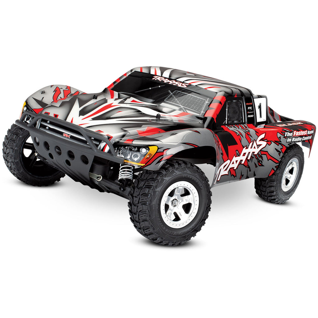 TRA58024-REDX 58024-REDX Slash 2WD Short Course Truck RTR, Red X