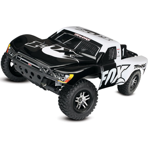 Traxxas Slash VXL 1/10 2WD SCT w/  TSM, Fox Edition, 58076-4