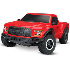 TRA58094-1-RED 58094-1-RED 1/10 Slash 2WD RTR Replica, Red