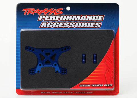 Traxxas 1/7 XO-1 Supercar Blue Anodized Aluminum Shock Towers