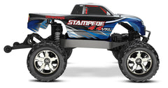 Traxxas 67086-4 Stampede VXL 1/10 4WD Monster Truck, Blue