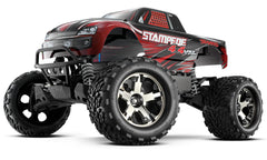 Traxxas 67086-4 Stampede VXL 1/10 4WD Monster Truck, Red