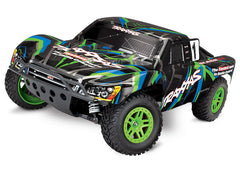 TRA68054-1-GRN 68054-1 Slash XL-5 4WD Short Course Truck, Green