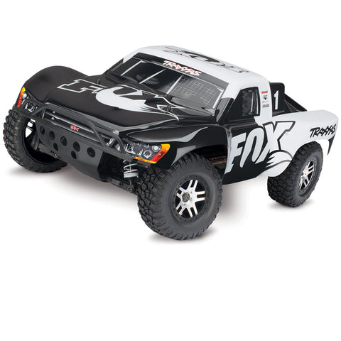 Traxxas RTR w/TSM, Fox Racing Edition Black/White, 68086-4