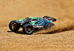 Traxxas E-Revo 1/16 4WD Monster Truck, Green, 71054-1