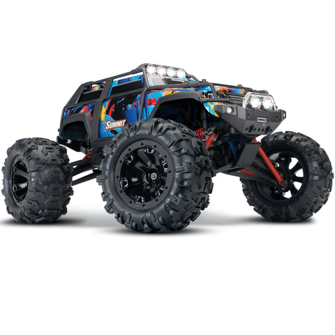 Traxxas Summit 1/16 4WD Monster Truck, RTR, Rock n' Roll, 72054-5
