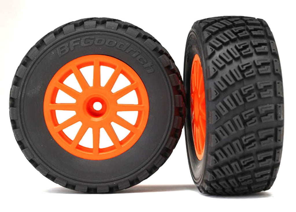 TRA7473A 7473A Tires & Wheels, Orange, Assembled