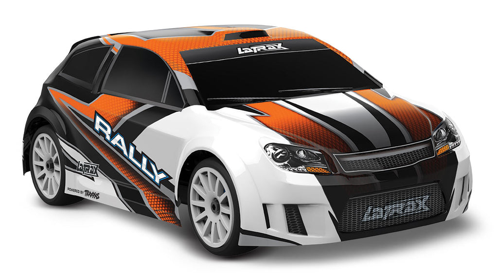 TRA75054-5-ORNG 75054-5 LaTrax Rally 1/18 4WD Rally Car, Orange