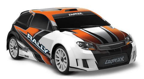 Traxxas LaTrax Rally 1/18 4WD Rally Car, Orange, 75054-5
