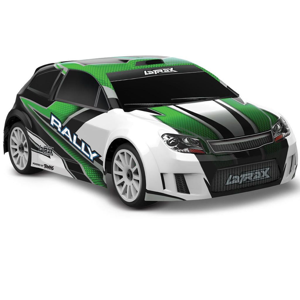 TRA75054-5-GRN 75054-5 LaTrax Rally 1/18 4WD Rally Car, Green