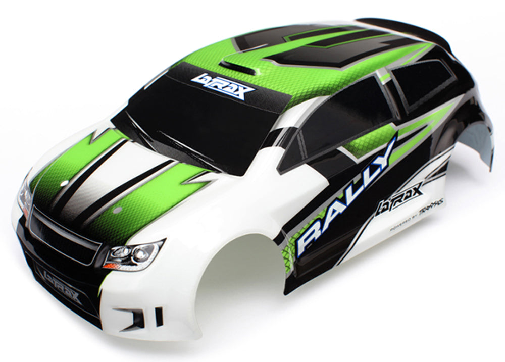 TRA7513 7513 LaTrax 1/18 Rally Pre-Cut Body, Painted, Green