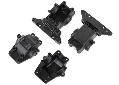Traxxas Front & Rear Bulkhead/Differential Housing, 7530