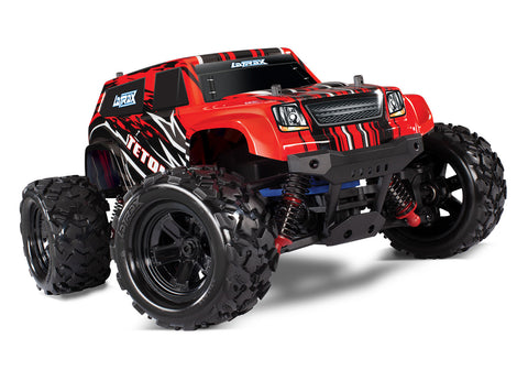 Traxxas LaTrax Teton 1/18 4WD Monster Truck RTR, Red, 76054-5
