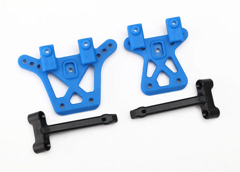 Traxxas Front/Rear Shock Towers & Braces, 7637