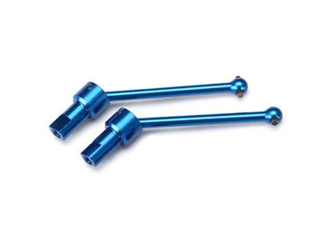 Traxxas 7650R Front & Rear Aluminum Driveshaft Assembly, Blue