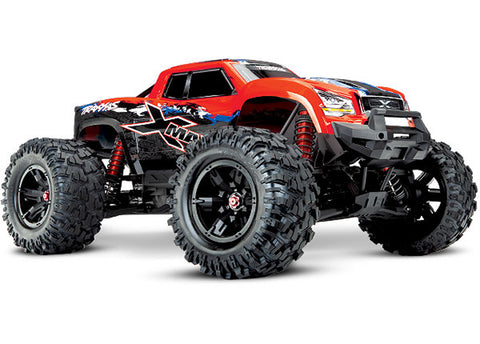 Traxxas X-Maxx 4WD Monster Truck, Red, 77086-4