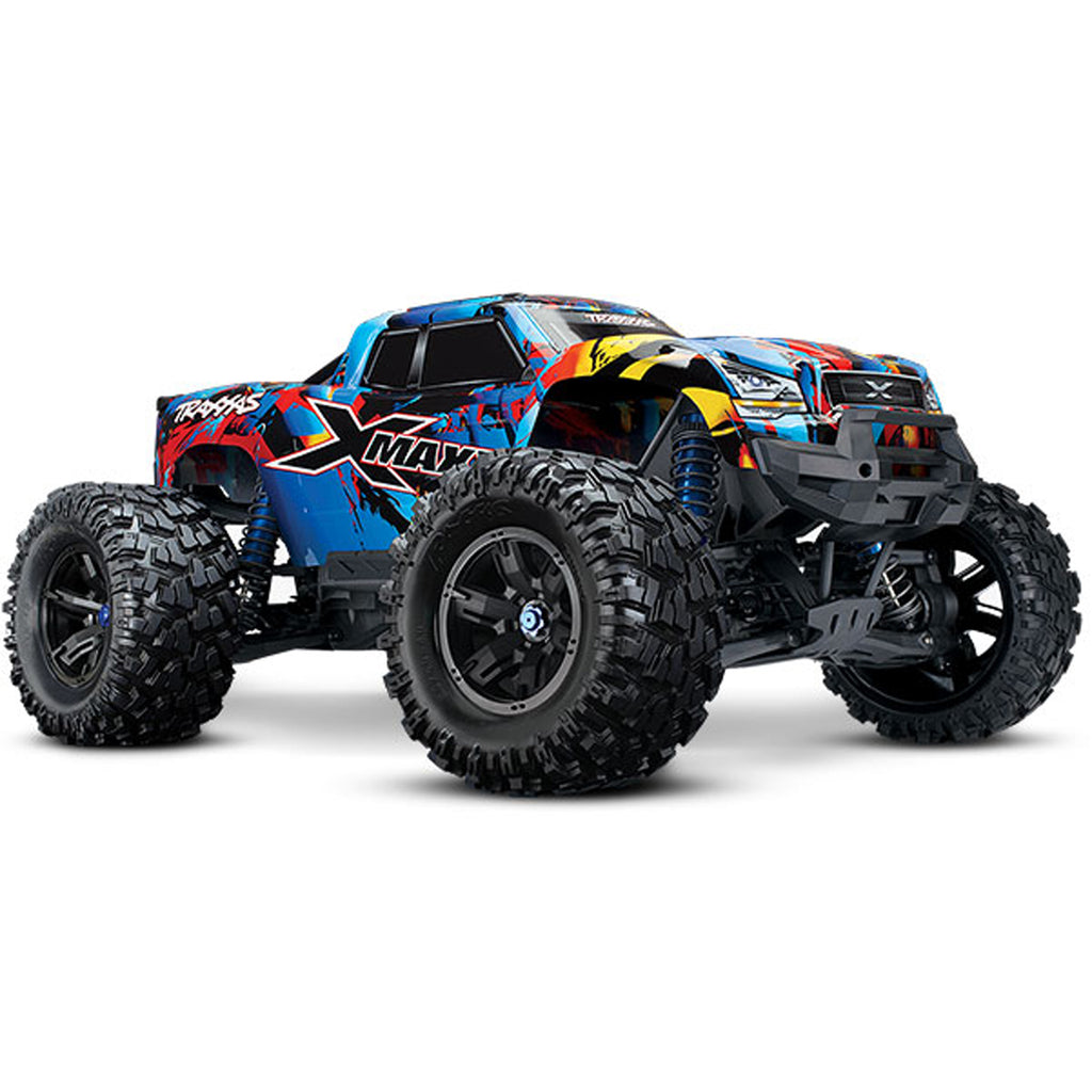 TRA77086-4-RNR 77086-4 X-Maxx 4WD Monster Truck, Rock n Roll