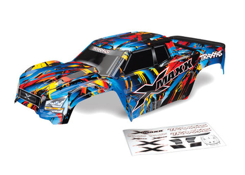Traxxas X-MAXX Body, Assembled, Rock n' Roll, 7711T