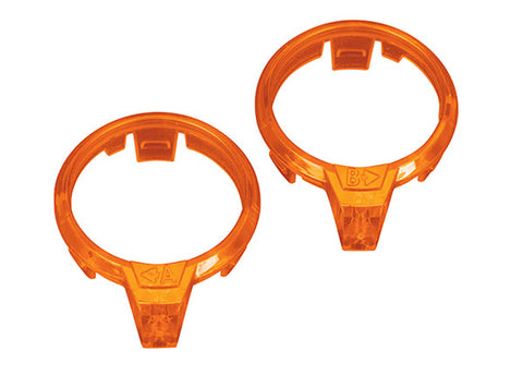 Traxxas Left/Right Orange Motor LED Lens, 7963