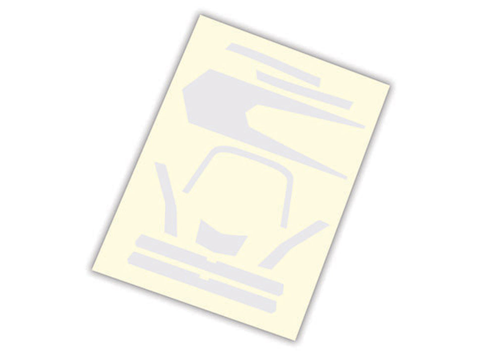 TRA7984 7984 Aton High Visibility Decals, White