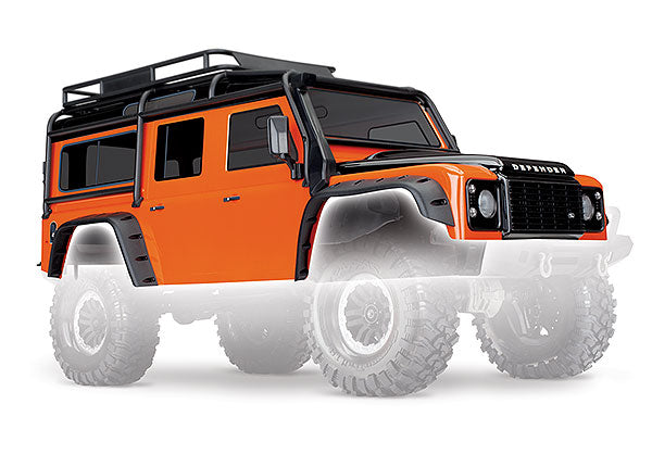 TRA8011A 8011A Land Rover Defender Body, Orange