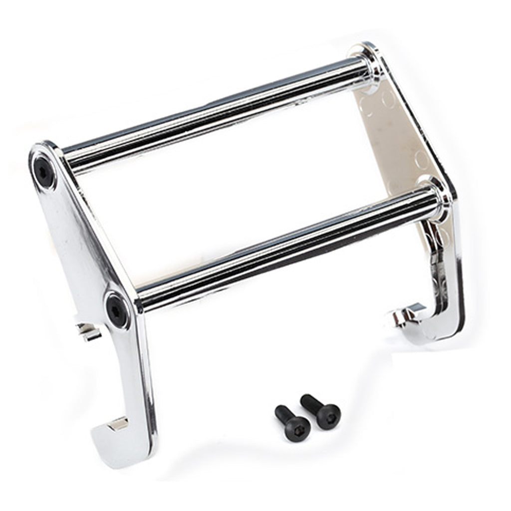 TRA8066 8066 TRX-4 Bronco Bumper Push Bar, Chrome