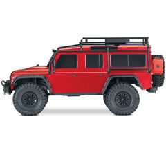 Traxxas TRX-4 Defender Scale & Trail Crawler, Red, 82056-4-RED
