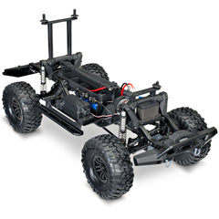 Traxxas 1/10 Scale & Trail Defender Crawler, Red, 82056-4-RED