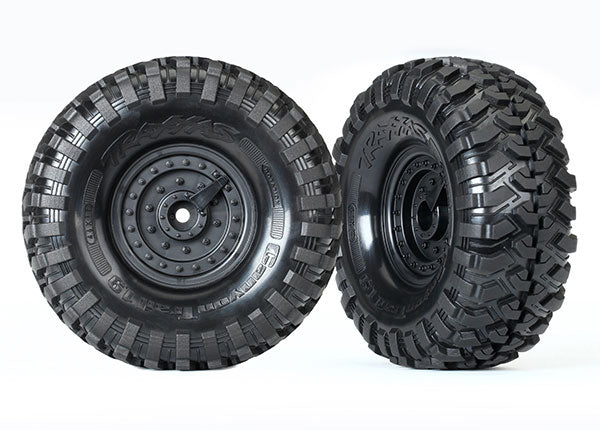 TRA8273 8273 Canyon Trail Tires & Tactical Wheels, 1.9""
